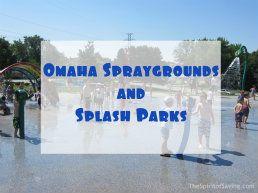 Omaha Spraygrounds and Splash Parks
