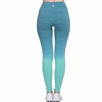 ของดี  Girl's Ombre Yoga Pants High Waist Slimming Sport Flexible LeggingsSuper Elastic Fitness Tights for Women Outdoor Joggers (Green) -intl  ราคาเพียง  499 บาท  เท่านั้น คุณสมบัติ มีดังนี้ PREMIUM QUALITY MATERIAL:Made from the finest qualityfabrics:High elasticity moisture perspiration breathablecomfortable soft material,wrinkle-resistant,sweat absorption;Nonsee-through,super soft touch finish;Hand washable or soft-machinewashable. Hanging Dyeing Design:Gradient color streamline…