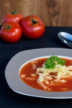 Tomatensuppe aus frischen Tomaten | Kaschula