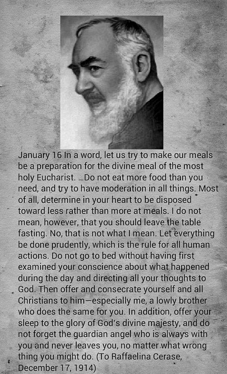 St. Padre Pio:  a letter of encouragement in our daily lives
