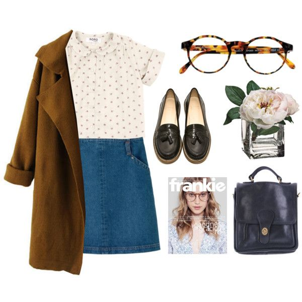 Down by the river by zoe-lia on Polyvore featuring Chicnova Fashion, A.P.C., B Store, American Apparel, François Pinton and vintage