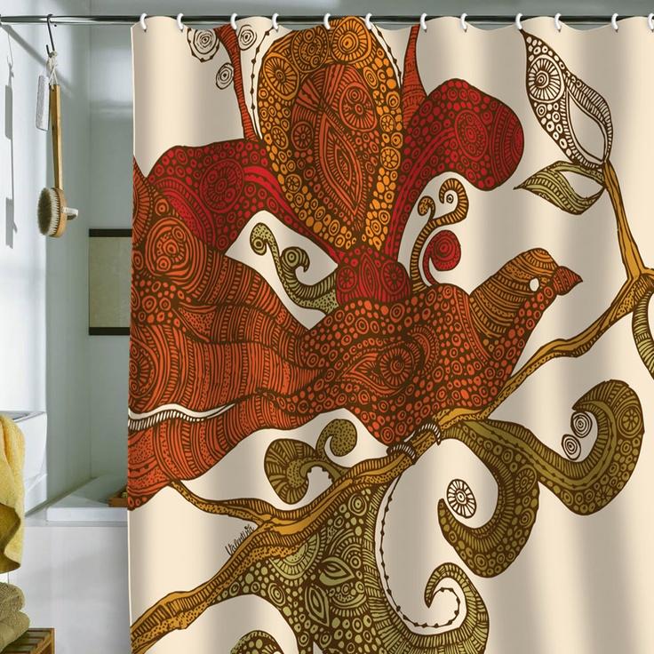 1000 Ideas About Bird Shower Curtain On Pinterest