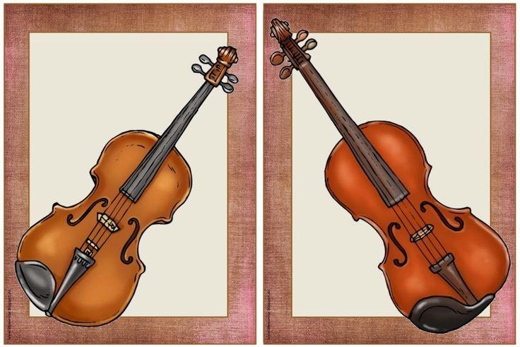 Musik in der Grundschule: Bildkarten Instrumente
