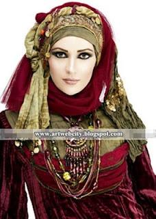 Beautiful Hijab Fashion Muslim Trends 2011- 2012 | Art Web City
