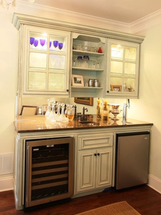 11 best home organization images on pinterest basement ideas bar ideas and basement bars - Home wet bar ideas ...
