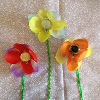 Faith and Felt Obsession: Easy Peasy Lei Flower Quiet Book Page