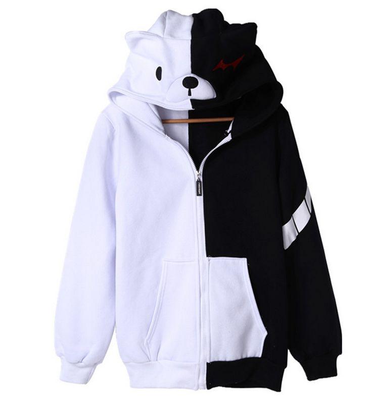 Monokuma hoodie sweater A
