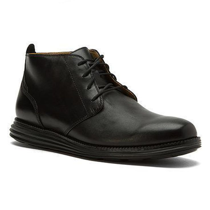 #ebay Cole Haan GRAND Men Size 9.5 M Black leather Chukka Ankle boots ColeHaan withing our EBAY store at  http://stores.ebay.com/esquirestore