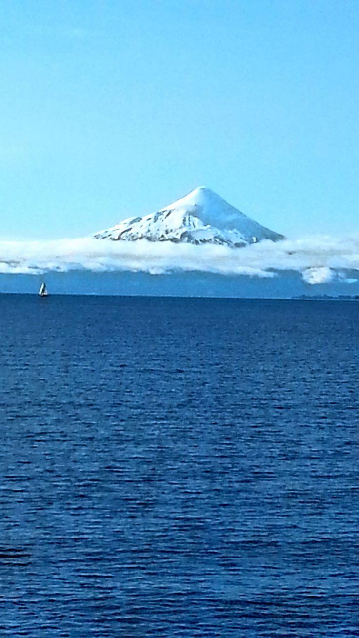 volcán osorno desde puerto varas