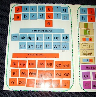 I need to do this for an All About Spelling board! Uses metal boards from walmart attached to inside a folder.