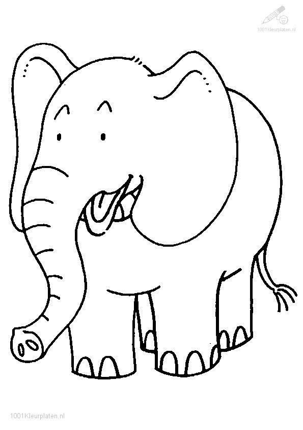 Coloring Pages For Adults Printable Elephant Baby