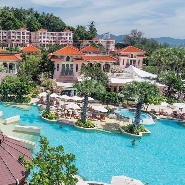 Welcome Centara Grand Beach Phuket On Daypass 5 Star Hotel Offering 4 Pools Lazy River And Slide On The Fun Side Cozy C Hotel Pool Pool Cabana Resort Pools