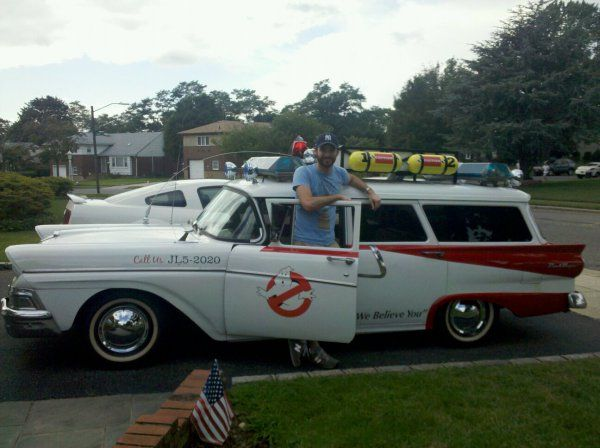 Ghostbusters Car IRL. Can you ghost ride the whip with this?. ghostbusters, Cars, IRL