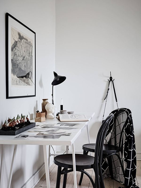 scandinavian office design. Just Because : Some Details. Scandinavian Office Design
