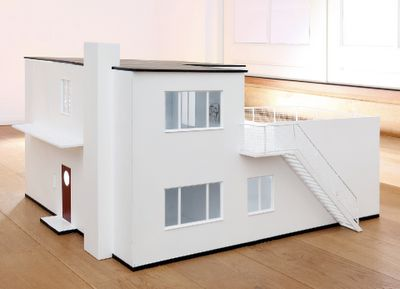 If It's Hip, It's Here: New Modern Dollhouse is a Reproduction Of Arne Jacobsen's Own 1928 Villa
