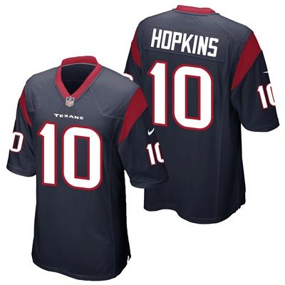 Houston Texans Home Game Jersey - DeAndre Hopkins:  Houston Texans Home Game Jersey - DeAndre Hopkins   Represent your favourite team and…