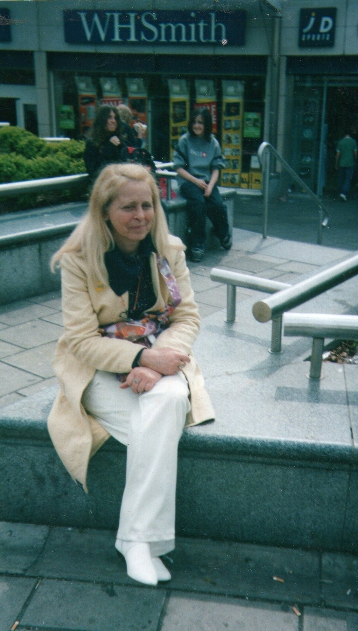 shopping time... just a moment of rest - lol  (England)