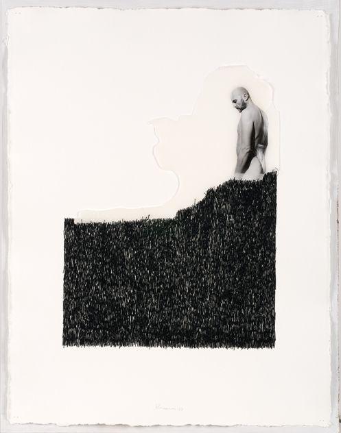 COSIDO EN LA MEMORIA. 75 X 58 cm. 900 €.