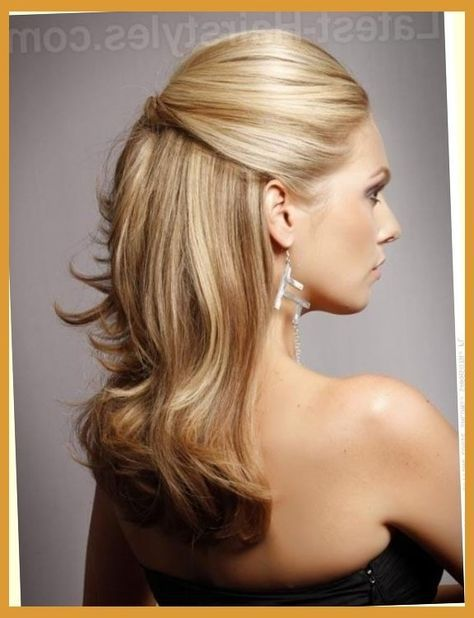 wedding guest hairstyles medium half up up dos 40 ideas
