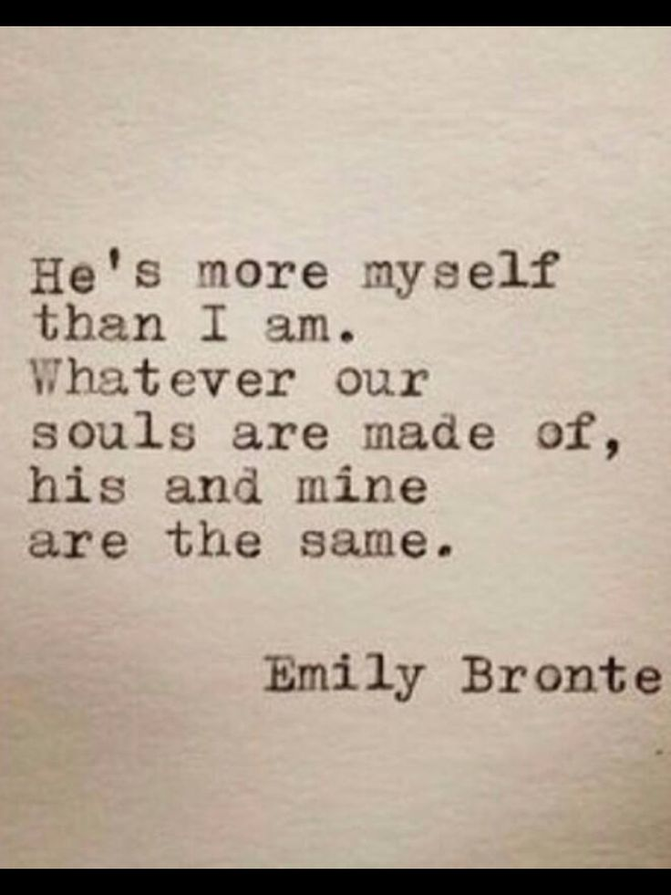 Soulmates. Quote.