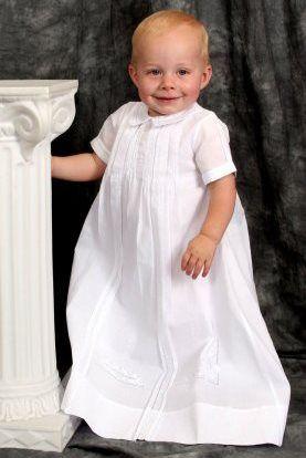robe de baptême garcon