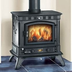 Image of Clarke Richmond Cast Iron Multifuel/Woodburning Stove