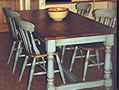 Distressed Kitchen Tables Pinterest