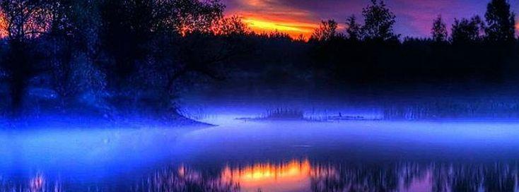 Lake Sunset Facebook covers - Facebook timeline covers maker
