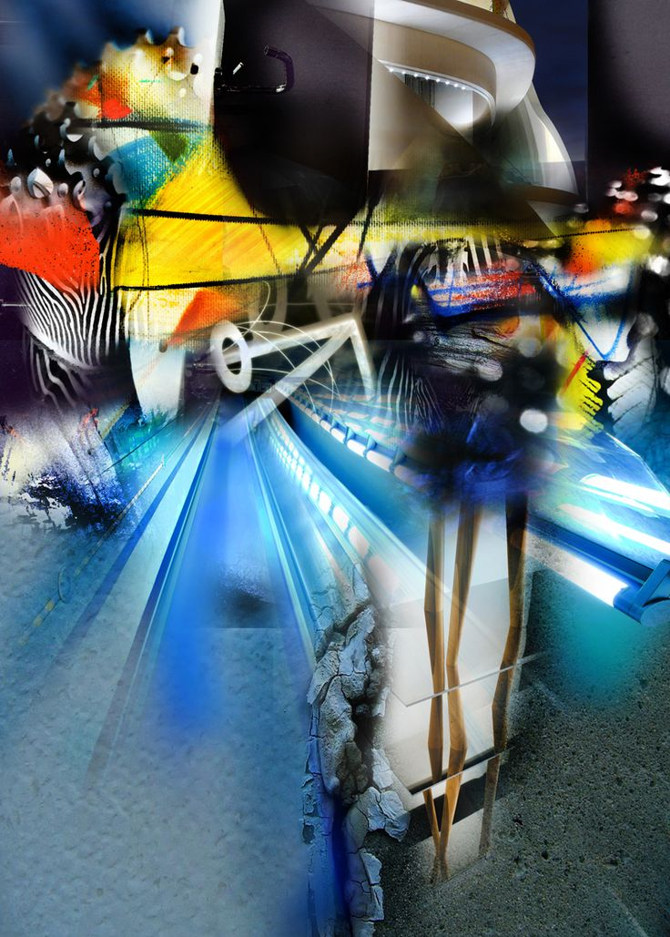 ASHES ALIVE 2014 - 3H Digital Monoprint 104 x 74 cms, ask on my FBook)
