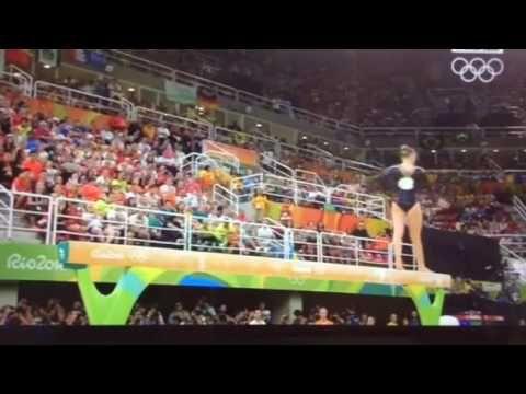 JO Rio 2016 : Gymnastique Artistique : Très bonne prestation de Wevers à...
