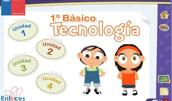 Texto Digital Tecnología 1° Básico - Enlaces