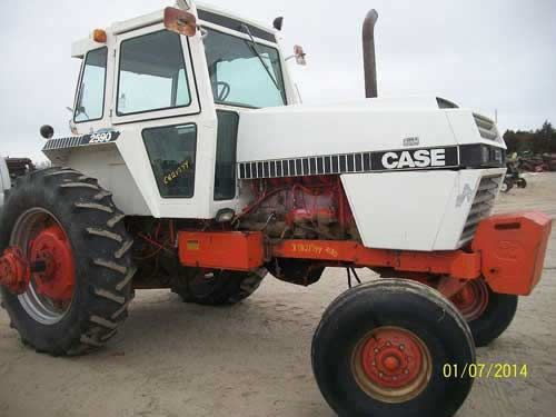 Parts Tractor 2590case : Case tractor salvaged for used parts call