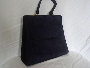 Sweet Suede Vintage Handbag