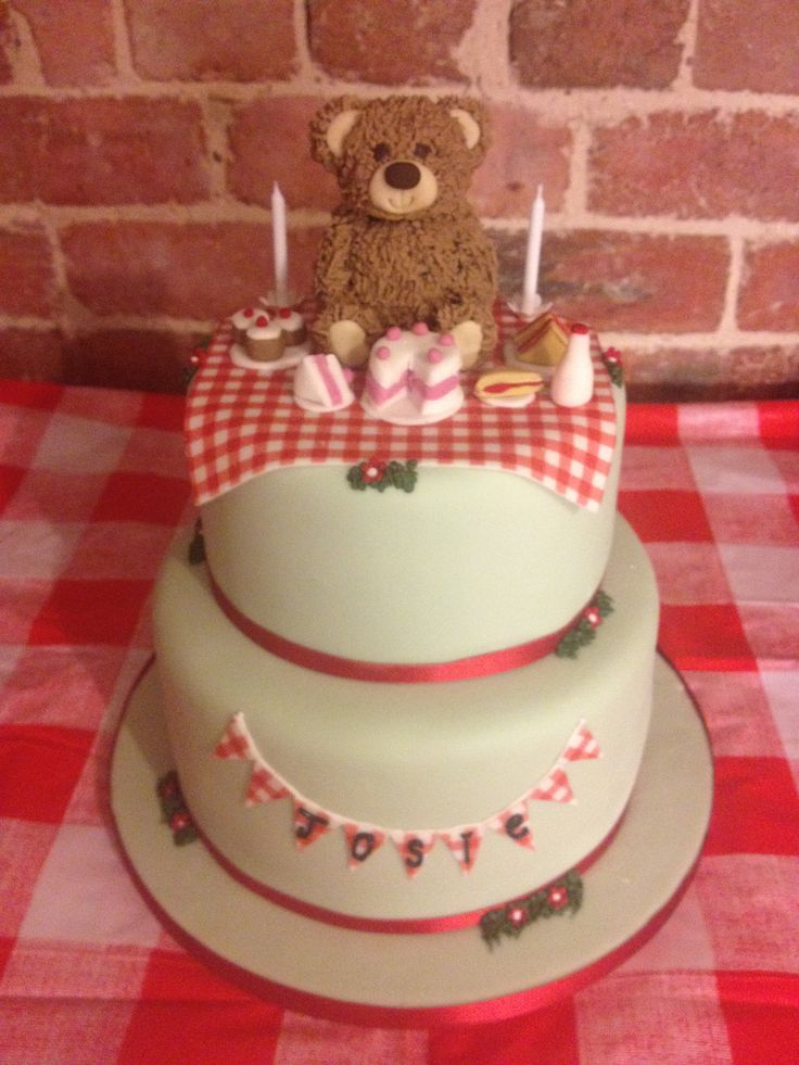 Teddy Bear Birthday Cake Ideas