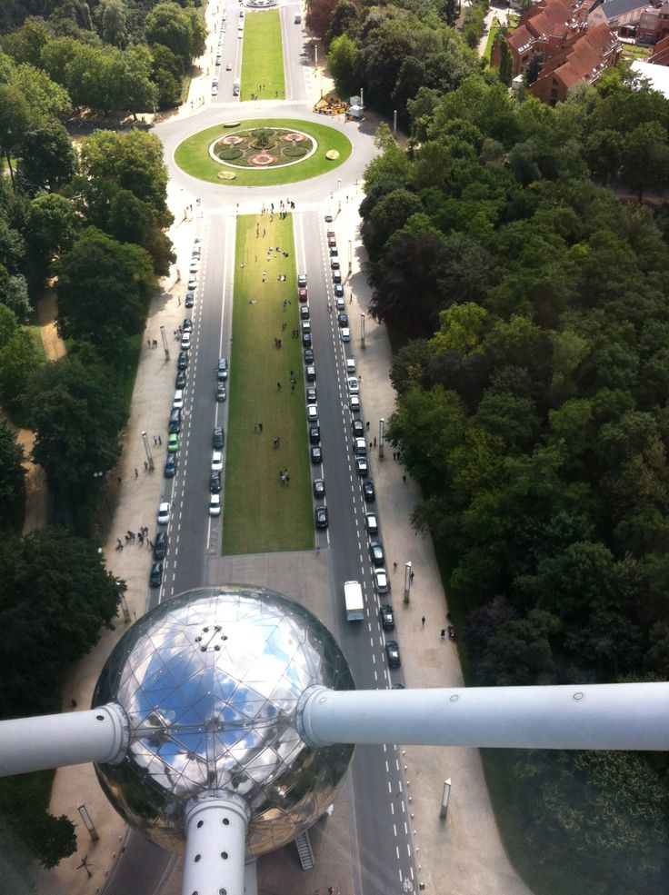 view from Atomium. Photo by Kelly Harrington