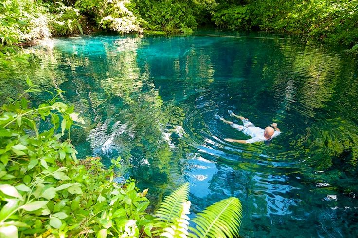 Blue Pools | Resort Latitude Zero | Sumatra Surf Trips / Holidays (Indonesia) - Mentawai & Telo Islands