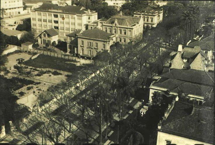 29-09-1942 - Rua São Luiz (atual Avenida São Luiz) próxima a Praça da República.