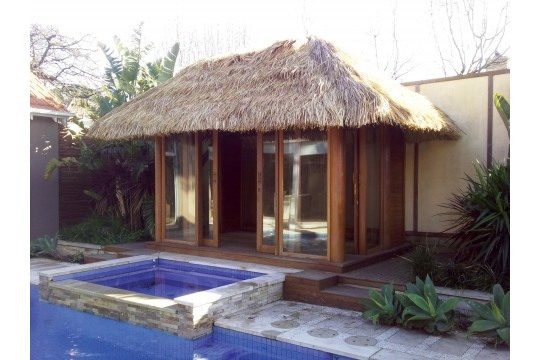 Cute Idea for a Bali Hut