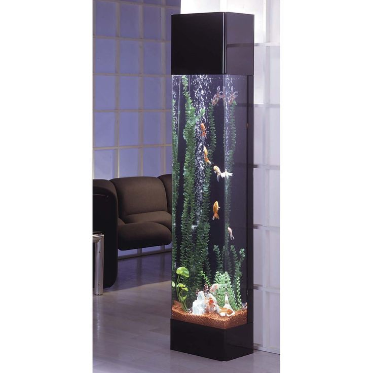 Midwest Tropical Rectangle Aqua 30 Gallon Tower Aquarium - RT-3000