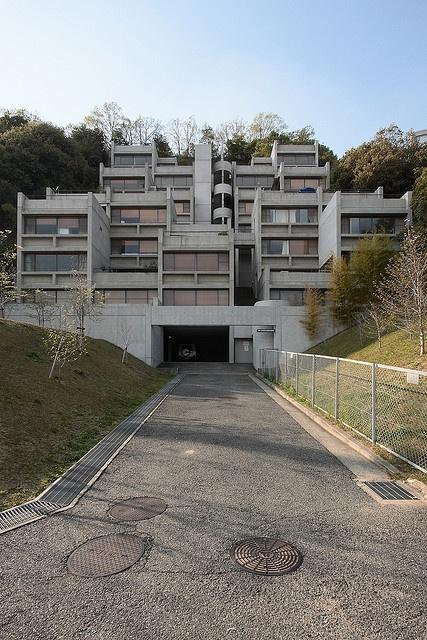 Rokko Housing, Tadao Ando