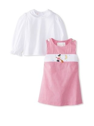 57% OFF Vive La Fete Kid's Witches Jumper & Blouse (Hot Pink)