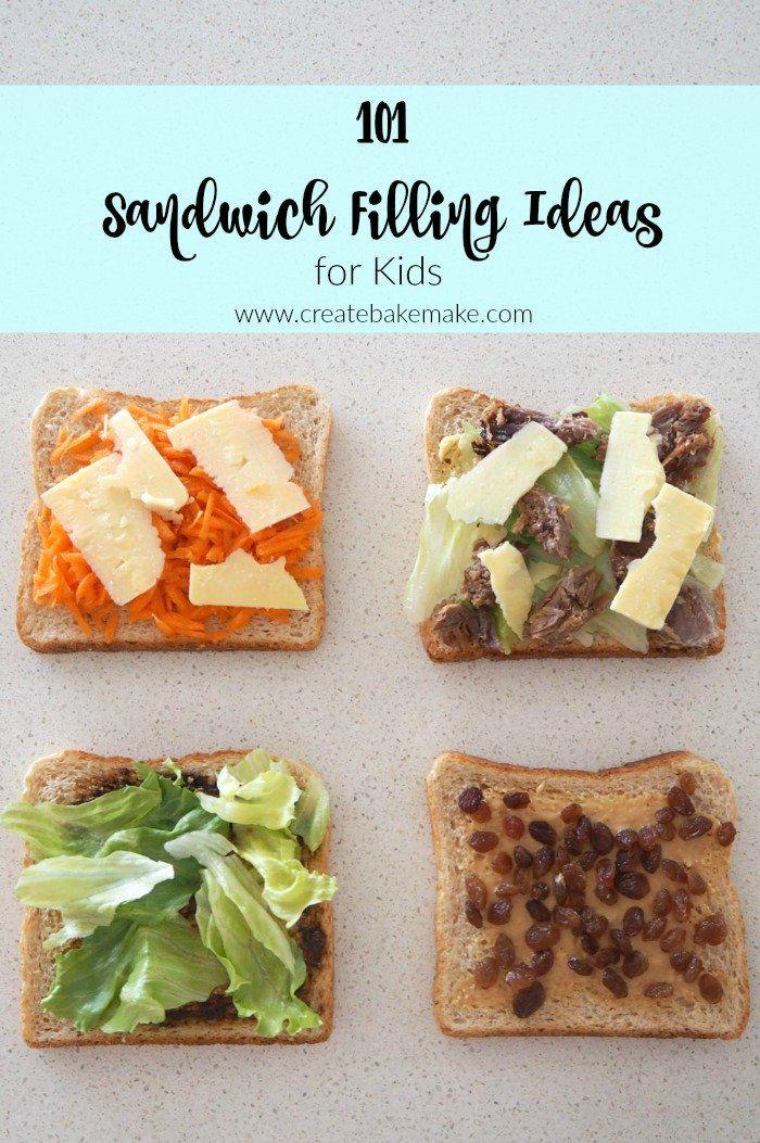 Sandwich Filling ideas for kids