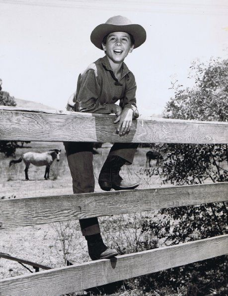 """The Rifleman"" (1958) Johnny Crawford"