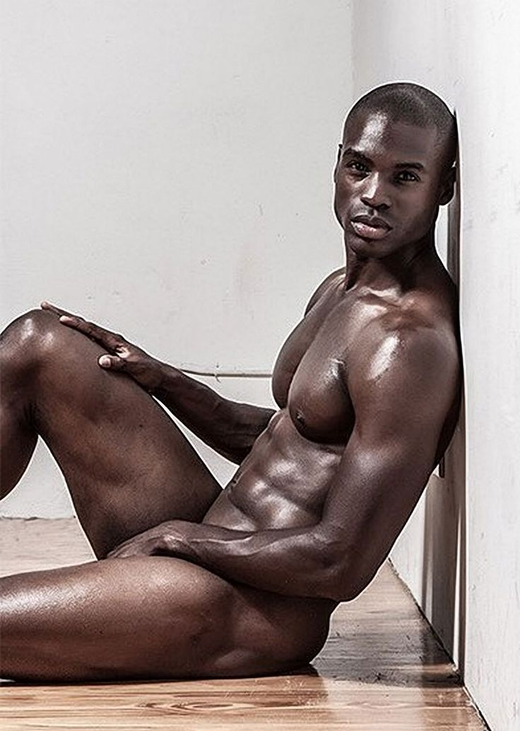 Ebony male nude models 10