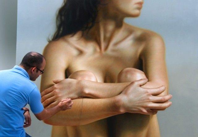 Hyper realistic Painting by Omar Ortiz