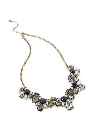 Floral Faux Gem Necklace | FOREVER21 - 1000117863