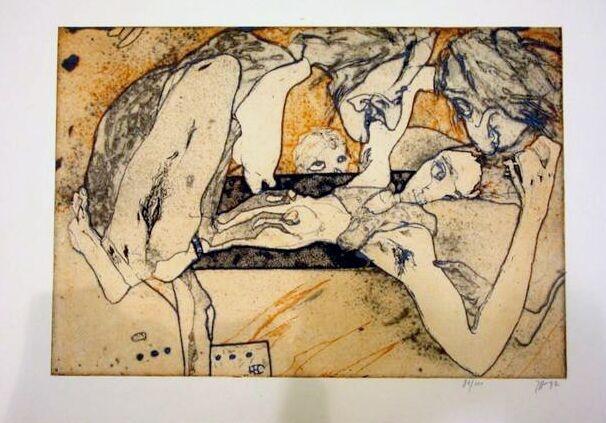 "Horst Janssen, ""Hexenlust""   Nr. 42"