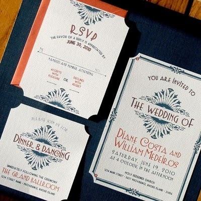 Art Deco Wedding Invitations108 best Art Deco   1920s Wedding images on Pinterest   1920s  . Art Deco Wedding Invitation. Home Design Ideas