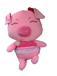 Pig Wedding Doll  Price $50, ship around the world  Shipping charge to buyer  #Doll #Pig http://bonekabandung.com