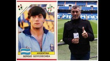 Sergio Goycochea fue arquero en Italia 90, hoy es oresentador en tv fox, marcg 23, 2014